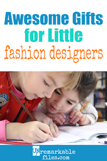 Parent-tested reviews of 7 great gifts for girls who love fashion and design (and won't drive their parents crazy.) Check out these cute and fun gift ideas for Christmas or birthday for girls: most are suitable for a 7 year old, 8-10 year old, or tween. #giftsforgirls #giftideas #christmas #birthday #toys