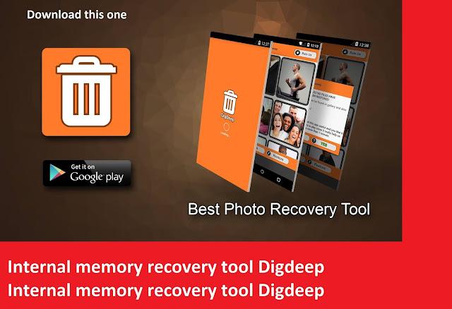 Internal memory recovery tool Digdeep