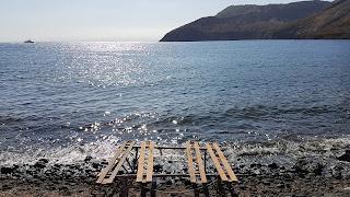 Spiaggia privata ingresso