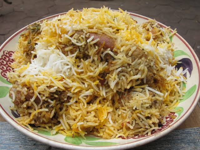 nasi biryani khas dengan bumbu nasi biryani cairo food
