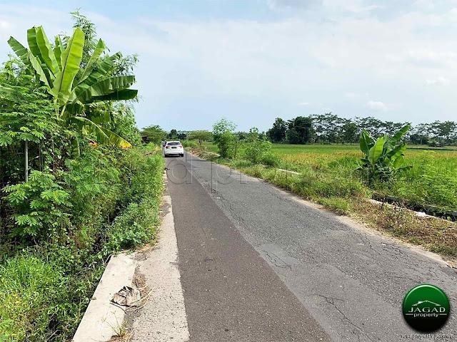 Tanah Luas Strategis jalan Godean Km 9