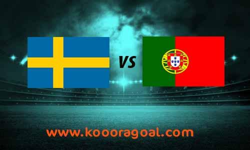 مشاهدة مباراة البرتغال والسويد كورة جول بث مباشر 8-9-2020 دوري الأمم الأوروبية