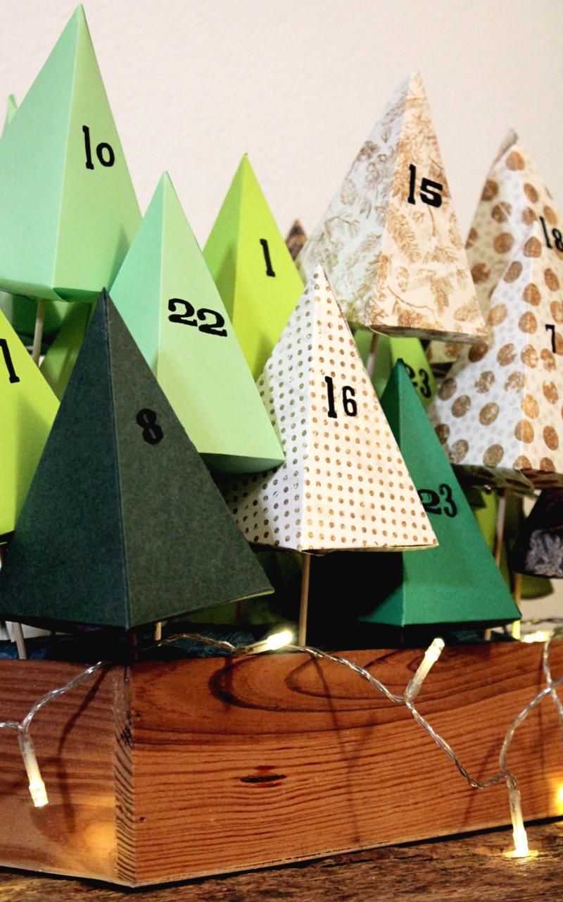calendario-avvento-da-tavolo-tutorial-foresta-alberi
