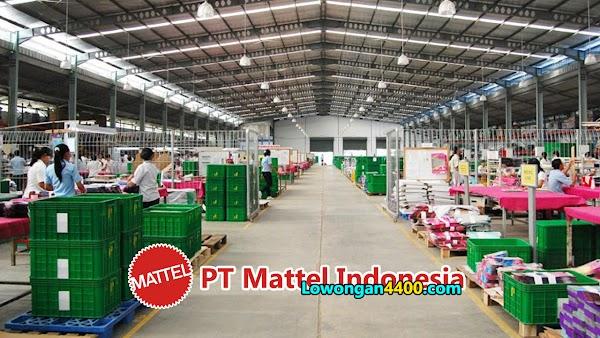 Lowongan Kerja PT. Mattel Indonesia Jababeka Terbaru