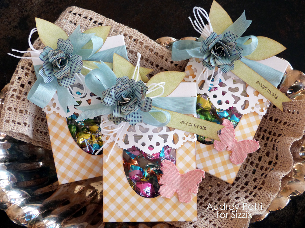 Sizzix Die Cutting Inspiration And Tips Sweet Treats Candy Holders