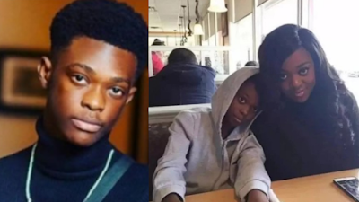 Photos Of Jackie Appiah's Grown Son Hit The Internet