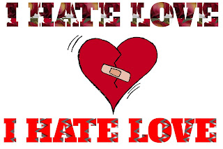 Hate love image, I hate love image, hate love image