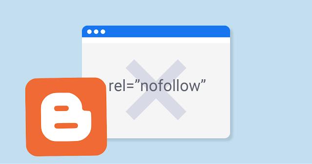 Cómo añadir enlaces nofollow en Blogger