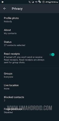 Kunci Fitur Sidik Jari WhatsApp