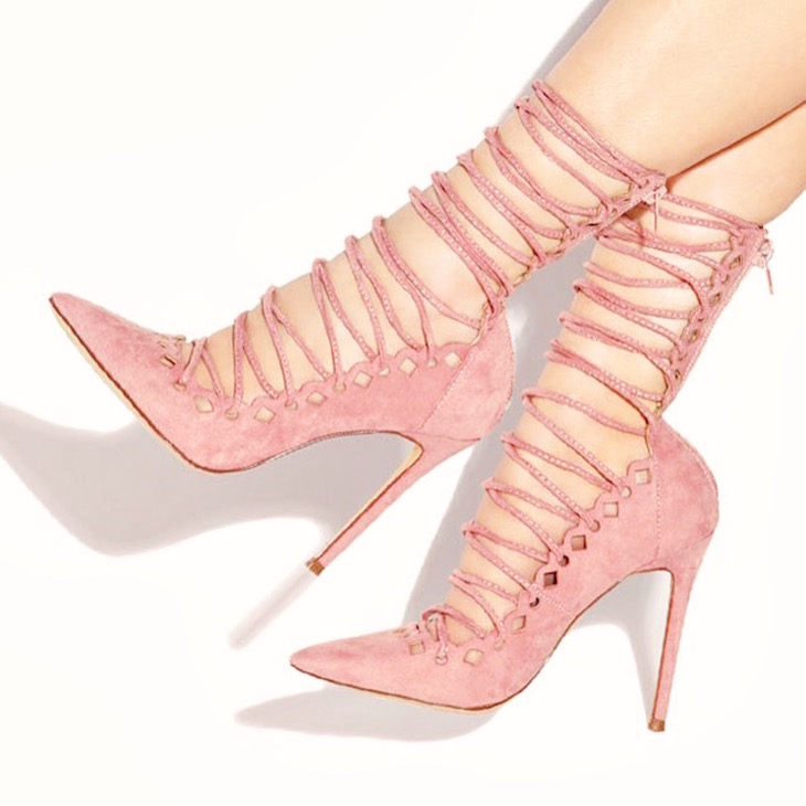 Lola-Shoetique-AUDACIOUS-ROSE-Front-Lace-Up-Cutout-Pump-Vivi-Brizuela-PinkOrchidMakeup