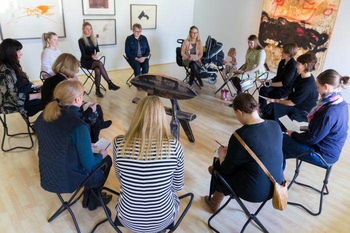 bloggaajien museopäivä Aboa Vetus & Ars Novassa