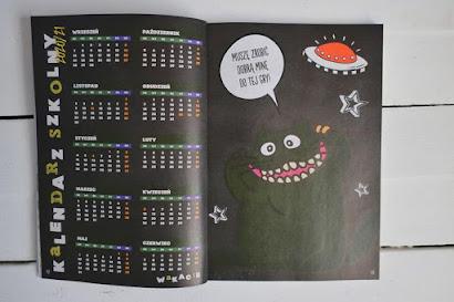 Kalendarz szkolny 2020/2021 z Biedronki - Mój pies i kot