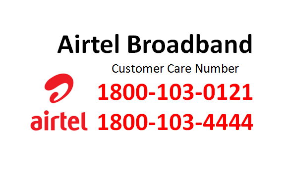 airtel broadband customer care number india