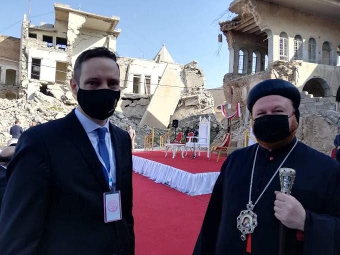 Azbej Tristan: Ferenc pápa áldását adta a missziónkra