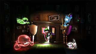 Luigi's Mansion PS4 Wallpaper