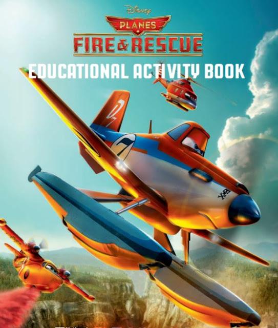 Aviones Equipo de Rescate: Libro de Actividades para Imprimir Gratis.