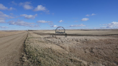 sign, ranch, Moose Jaw, Spring Valley, Saskatchewan, landscape