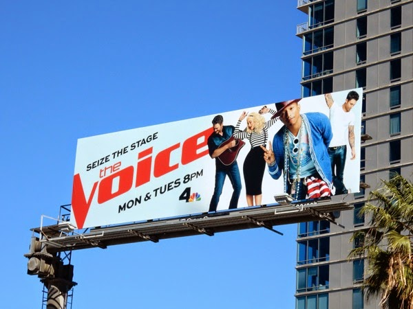 The Voice season 8 Pharrell billboard