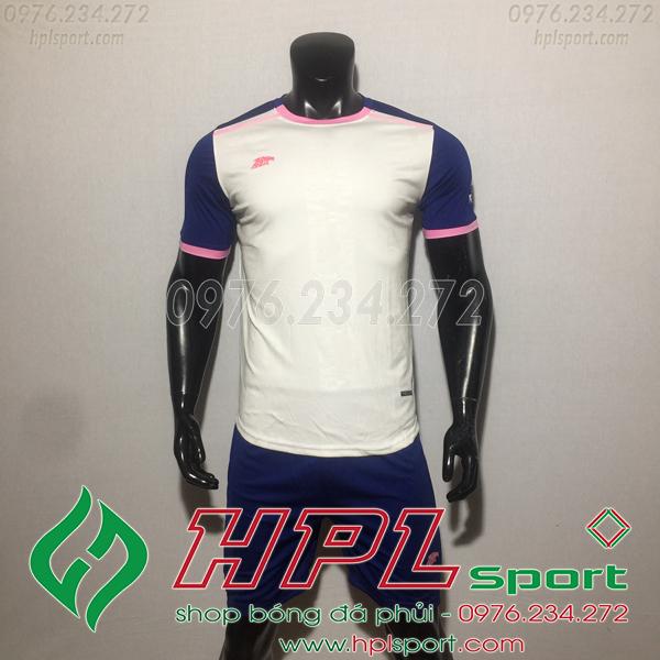 Áo bóng đá ko logo Eureka HAT TV  Màu Trắng