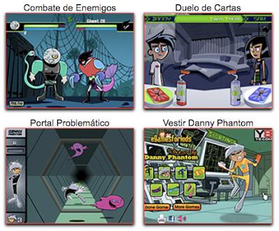 Nuevos juegos de Danny Phantom en español