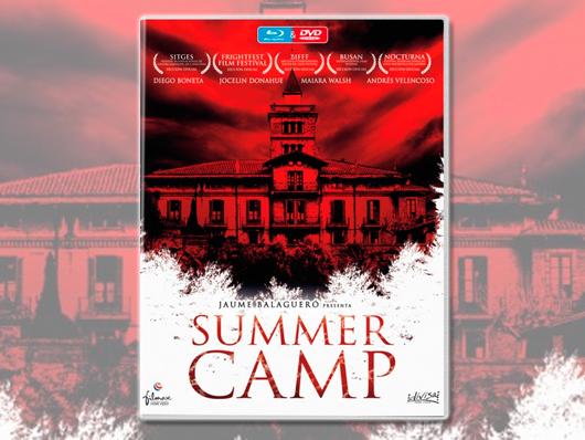 Concurso 'Summer Camp': Tenemos combos Blu-ray & DVD de la película para vosotros