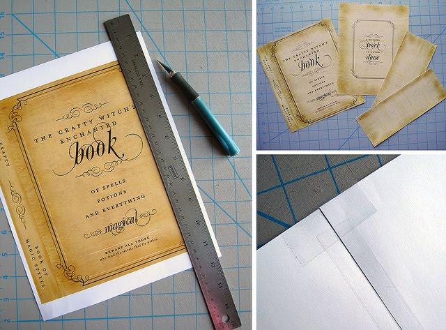 Book Cover Portadas Office : Enrhedando manualidades