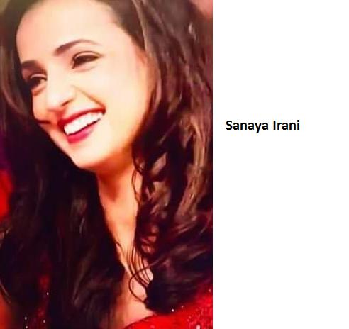 Sanaya Irani