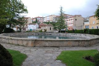 Fuente de Cella, uno de los mayores pozos artesianos