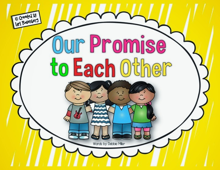 Our Love For Each Other: Teaching With Love And Laughter: Our Promise To Each Other