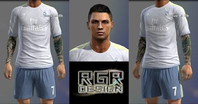 Fantasy Face Cristiano Ronaldo Pes 2013 by RGR
