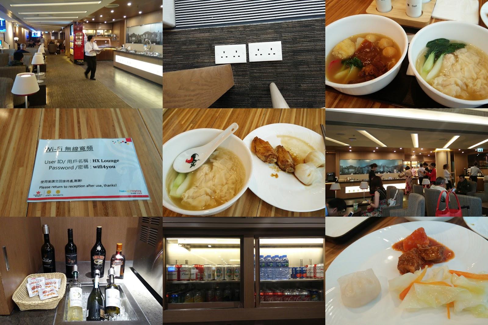 黑老闆說︱香港航空貴賓室不算大、餐飲普通、員工一堆卻不會協助引導,也不親切。