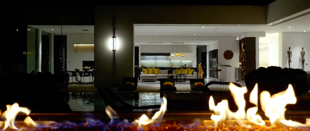 60 Interior Photos vs. Tour 551 Chalette Dr, Beverly Hills, CA Ultra Luxury Contemporary House