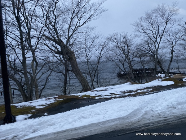 Lake Towada in Oirase National Park in Aomori, Japan