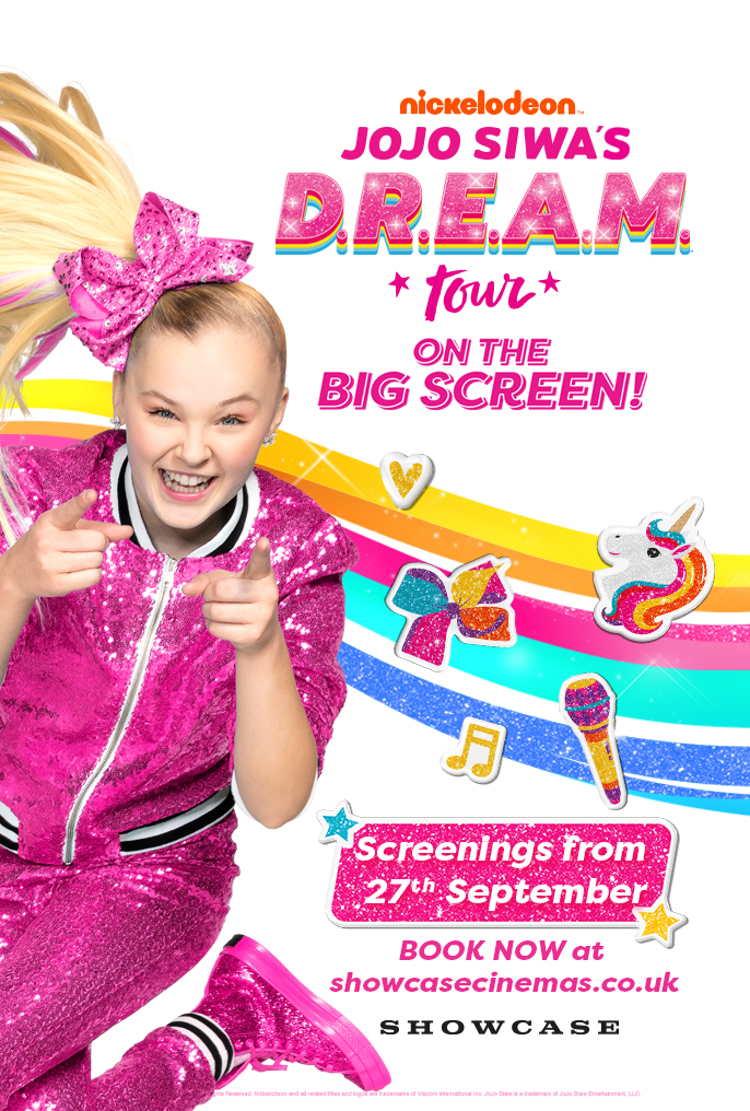 Nickalive Jojo Siwa S D R E A M Tour To Head To The Big Screen At Vue And Showcase Cinemas In The Uk Ireland