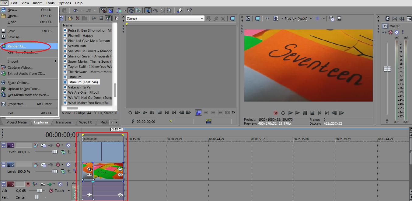 Tutorial Dasar Editing Video Menggunakan Sony Vegas Pro   Biobii