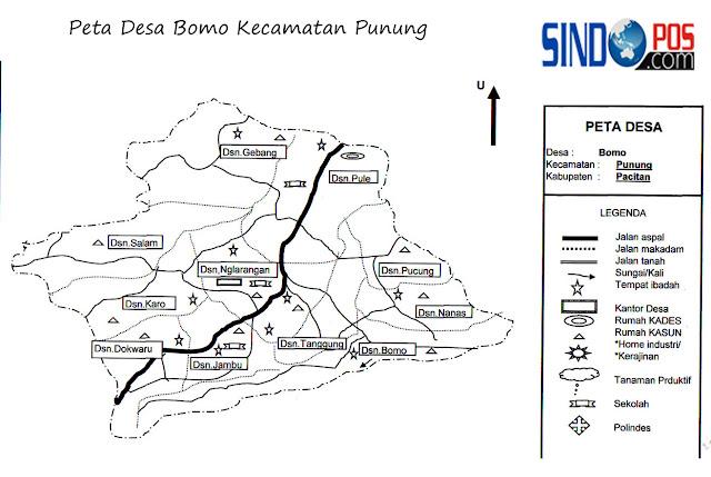 Desa Bomo Kecamatan Punung Kabupaten Pacitan