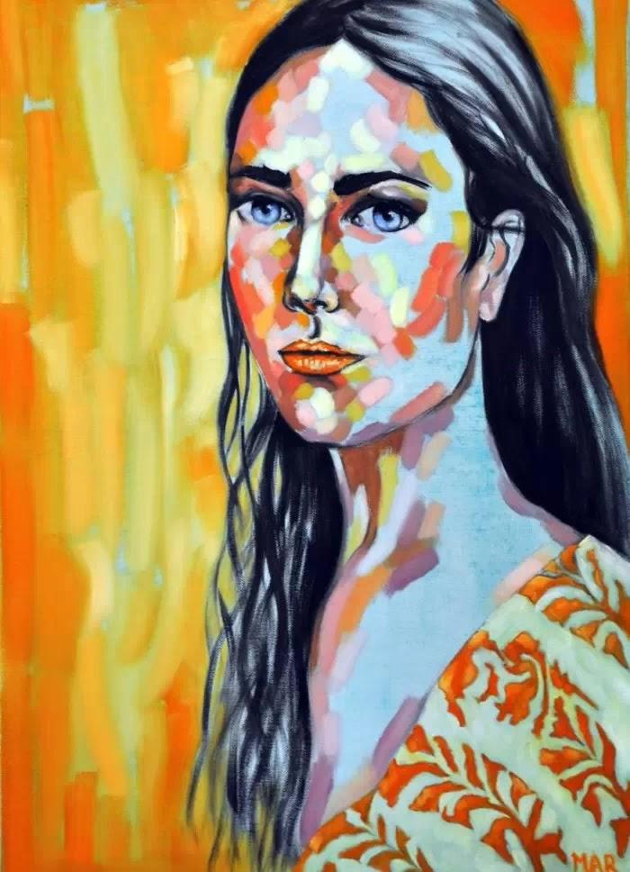 Magdalena Ana Rosso. Лица в модных журналах