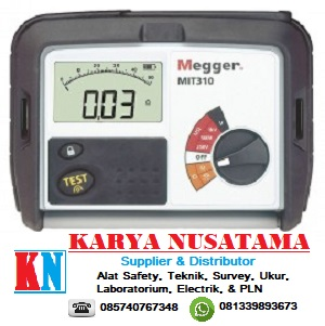Jual Digital Insulation Tester Megger 1000V di Jabar