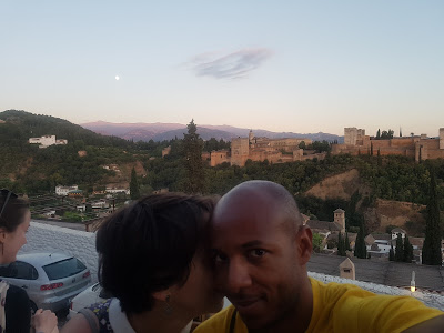 Full moon and great view from San Nicolas mirador