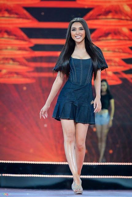 Nhan sắc thí sinh có nụ cười đẹp nhất Hoa hậu Hoàn vũ Việt Nam