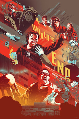 The World's End Variant Screen Print by Kevin Tong
