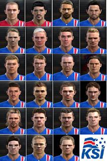 Facepack Iceland 2016 Pes 2013