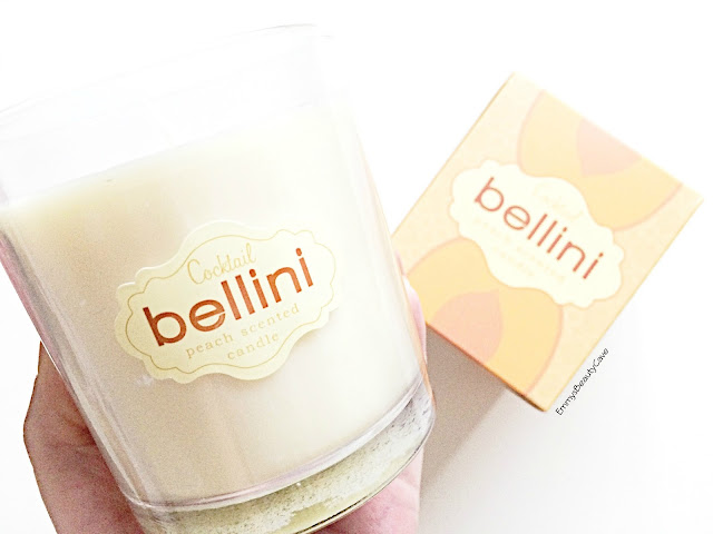 Cocktail Bellini Peach Scented Candle