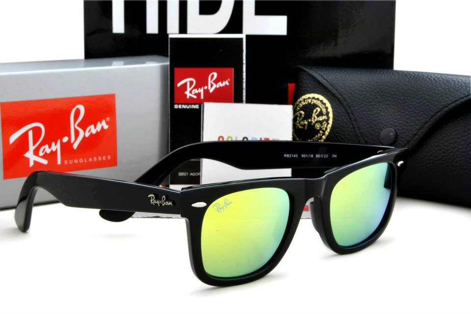 e8ff9608255 ... sunglasses 84292 5cf0f  low price ray ban wayfarer shing black frame  yellow lens 5f719 4ce48