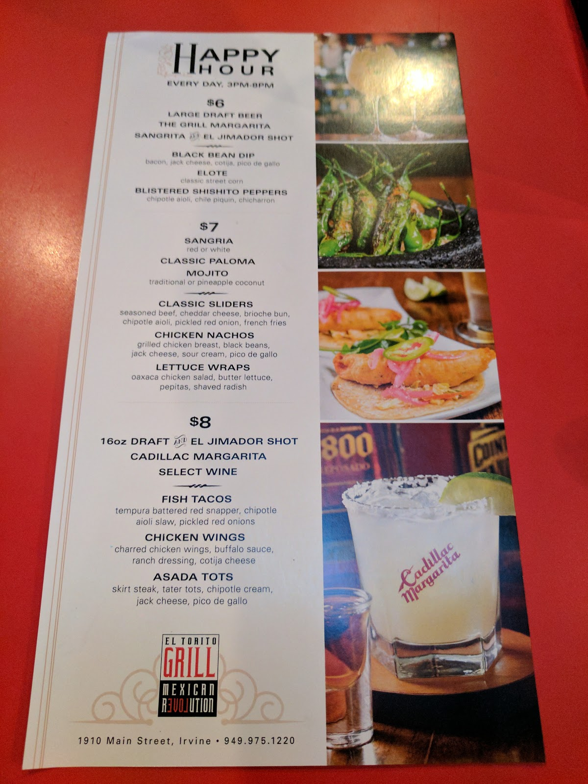 photograph about El Torito Coupons Printable known as El torito consume menu / The place is punta gorda florida observed