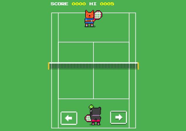 Wimbledon Scores - Game Tenis Tersembunyi di Google