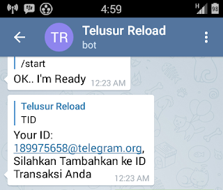 Center Telegram Telusur Reload