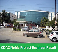 CDAC Noida Project Engineer Result