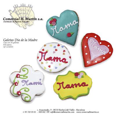 Dia de la Madre - Comercial H. Martín - galletas creativas
