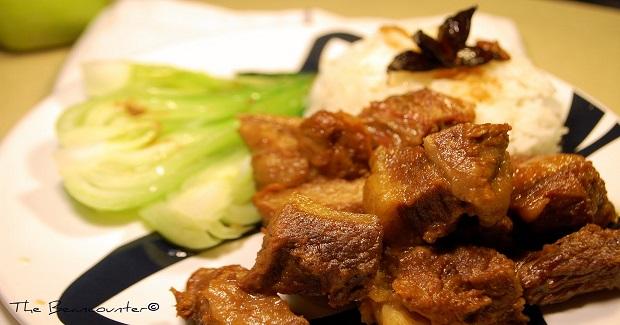 Braised Beef Brisket (Beef Pares/Chinese Adobo) Recipe
